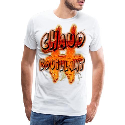 H-Tag Chaud Bouillant - T-shirt Premium Homme