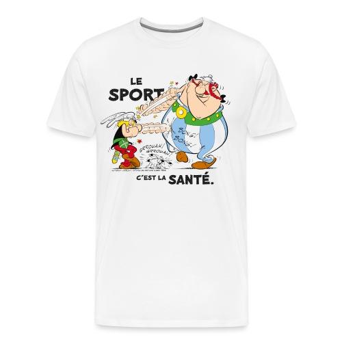 Astérix et Obélix - Le sport c'est la santé - T-shirt Premium Homme