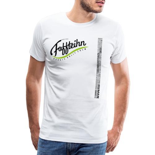 Mission statement black - Männer Premium T-Shirt