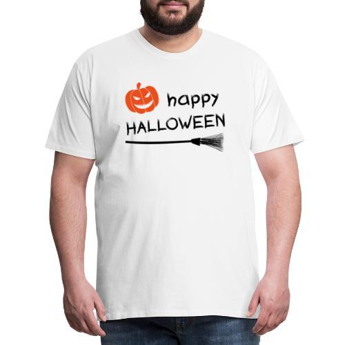 Happy halloween - Mannen Premium T-shirt