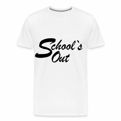 School`s out - Männer Premium T-Shirt