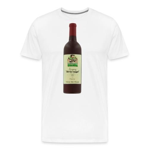 Vino_Del_Slize_V2 - Herre premium T-shirt