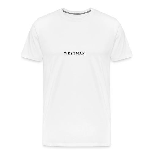 Black Westman - Mannen Premium T-shirt