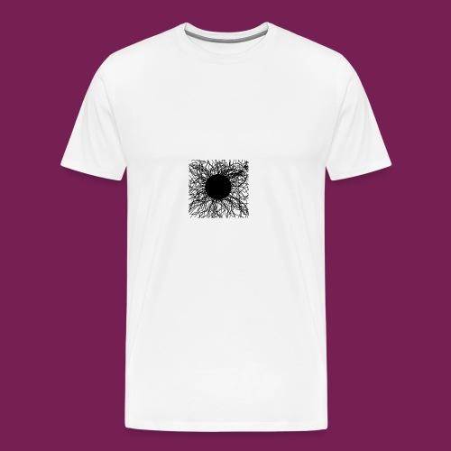 Mörker/ darknes - Premium-T-shirt herr