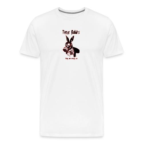 terror rabbits - Männer Premium T-Shirt