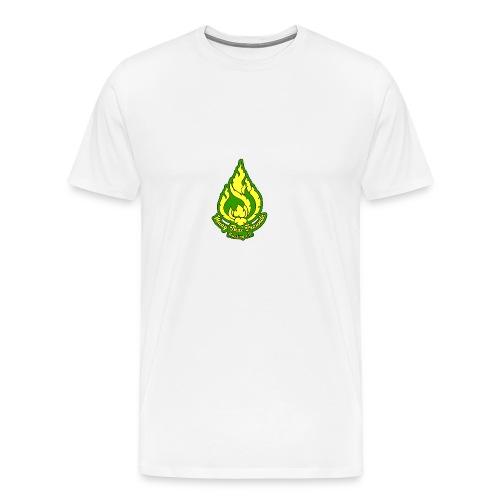 MTFF Logo FINAL color 05 mitText 719x1024 png - Männer Premium T-Shirt