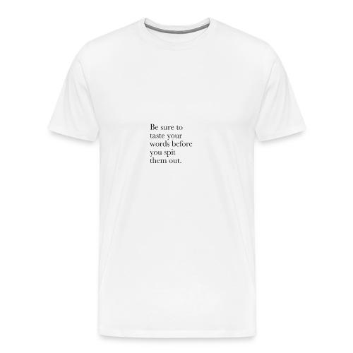 new life quotes - Men's Premium T-Shirt