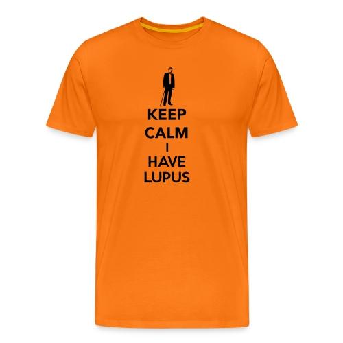 Keep Calm I Have Lupus - Men's Premium T-Shirt