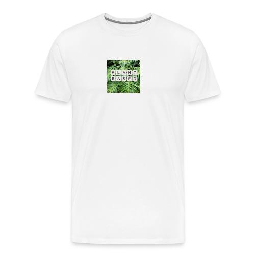 plant based - Männer Premium T-Shirt