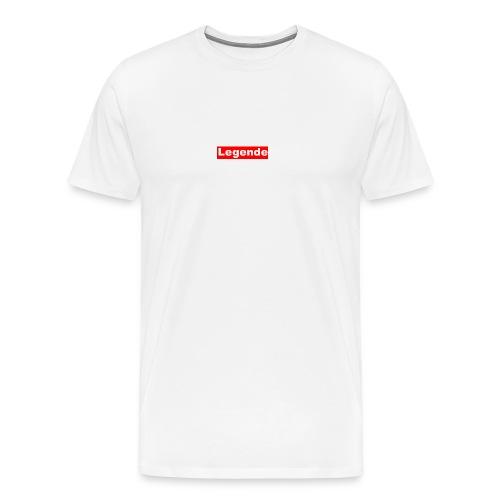 Du bist eine Legende und einfach Toll - Männer Premium T-Shirt