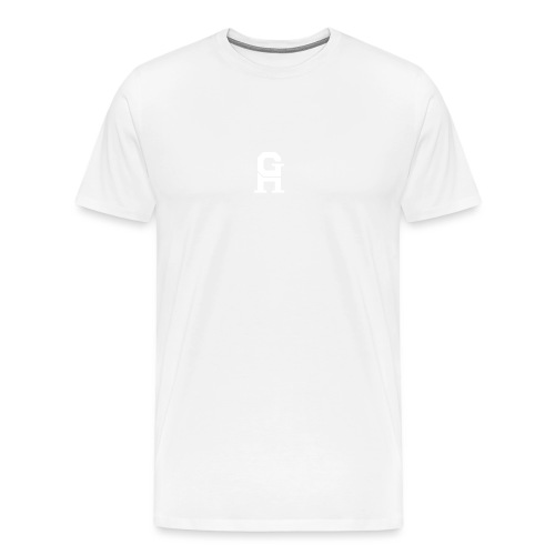 afterlife logo - white - Mannen Premium T-shirt