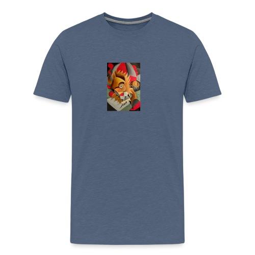 leone - Maglietta Premium da uomo