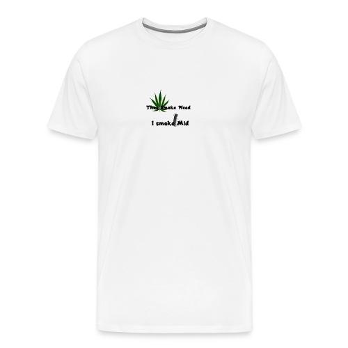 Greenkush Counter Strike style - Premium-T-shirt herr
