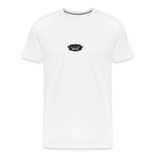 LOGO SWAG LIGHTS CAMERA - Maglietta Premium da uomo