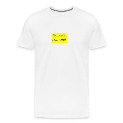 Pensamientos-png - Camiseta premium hombre