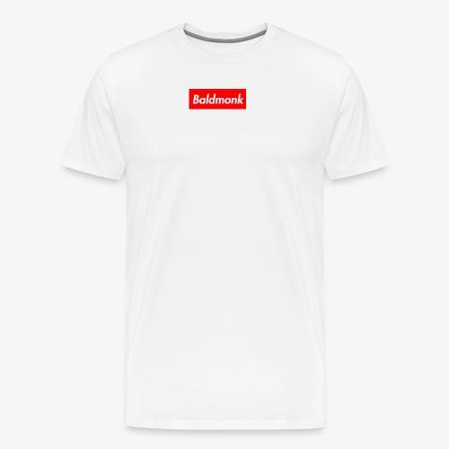 Baldmonk Box Logo - Men's Premium T-Shirt