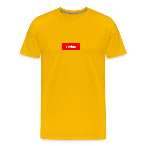 LUDDE - Premium-T-shirt herr