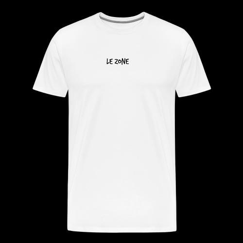 Le Zone Officiel - Herre premium T-shirt