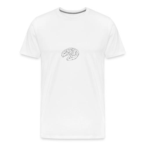 Pizza Kopp - Premium T-skjorte for menn