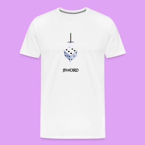 SWORD String - Premium-T-shirt herr