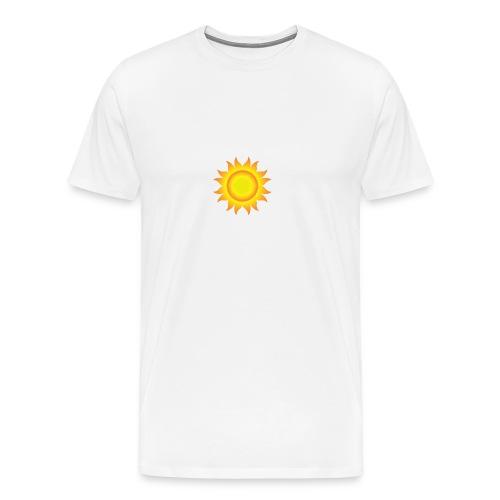 sol T-shirt - Herre premium T-shirt