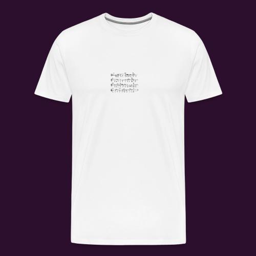 era_una_notte_che_piov-gif - Maglietta Premium da uomo