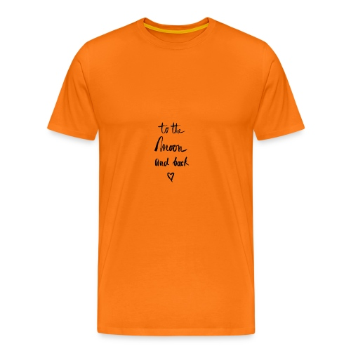 To the moon and back - Männer Premium T-Shirt
