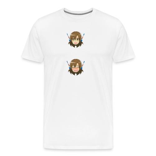 face joie png - T-shirt Premium Homme