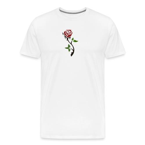 Santico. Rose. - Premium-T-shirt herr