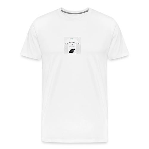 All gas, no brakes - Maglietta Premium da uomo