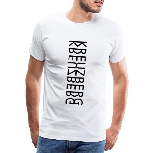 Berlin Kreuzberg Kreuzberger Berliner Geschenk - Männer Premium T-Shirt