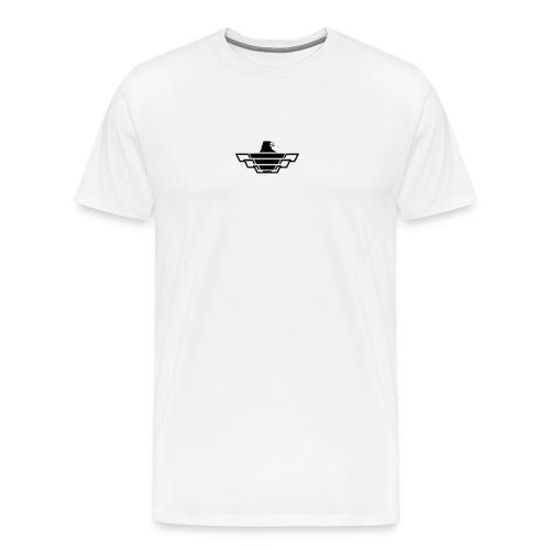 Aquila der Lüfte (schwarz) - Männer Premium T-Shirt