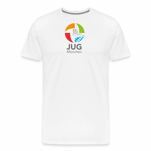 JUG Logo (color) - Männer Premium T-Shirt
