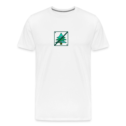 Anti Xmas T Shirt Baum - Männer Premium T-Shirt