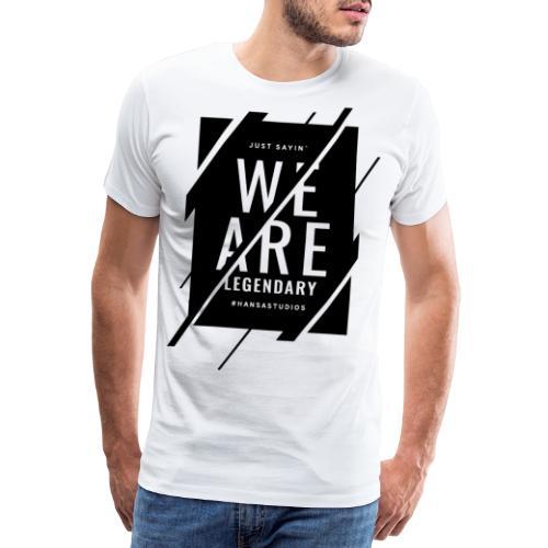 Hansa Studios T-Shirt | W.A.L. (White) - Männer Premium T-Shirt