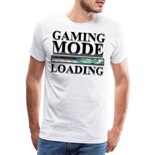 Gaming Mode Loading - Männer Premium T-Shirt