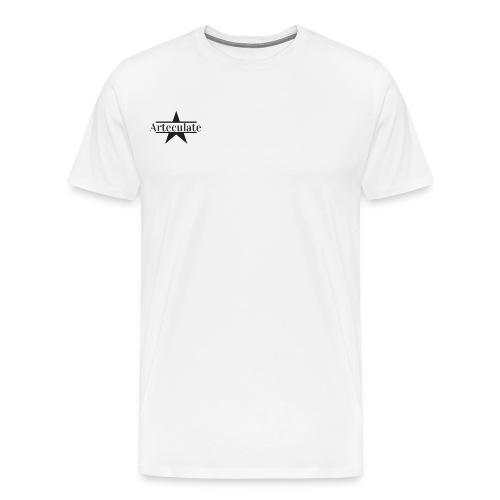 ArteculateLogoFin png - Men's Premium T-Shirt
