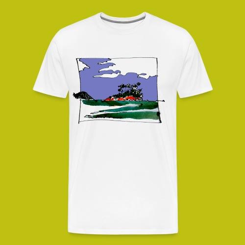 isla - Camiseta premium hombre