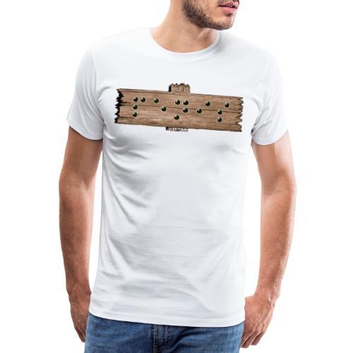 Penis - Blindenschrift - Männer Premium T-Shirt