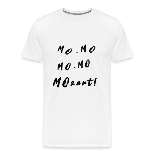 Milly's Mozart T-shirt - Men's Premium T-Shirt