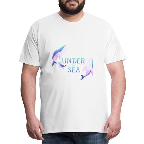 Under the Sea - Les Baleines - Men's Premium T-Shirt