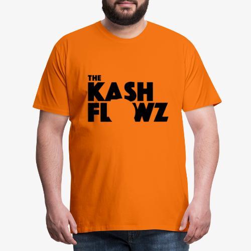 The Kash Flowz Official Black - T-shirt Premium Homme