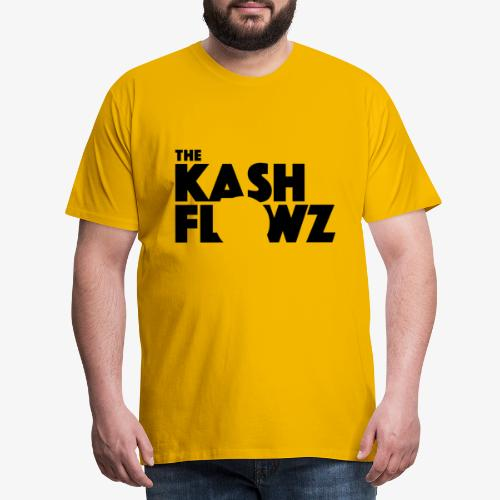 The Kash Flowz Official Black - T-shirt Premium Homme