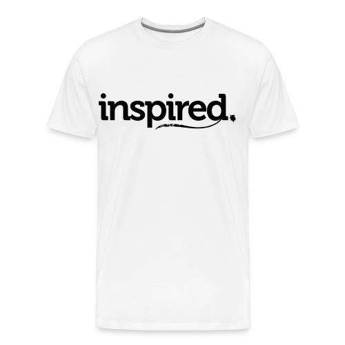 inspired. schwarz - Männer Premium T-Shirt