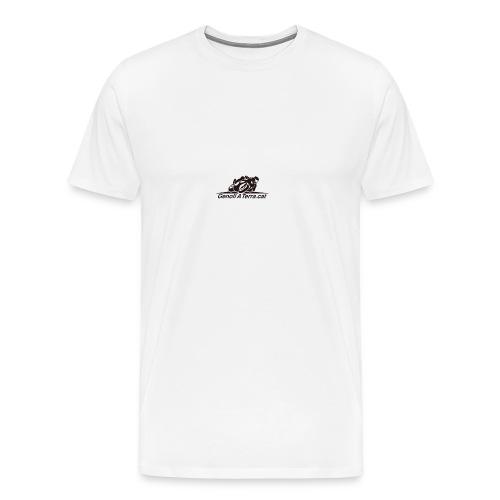 Logo-cuadrat-redone-png - Camiseta premium hombre