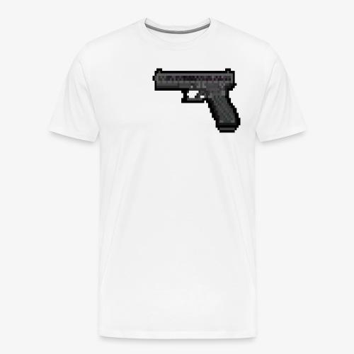 GLOCK PixelArt - T-shirt Premium Homme