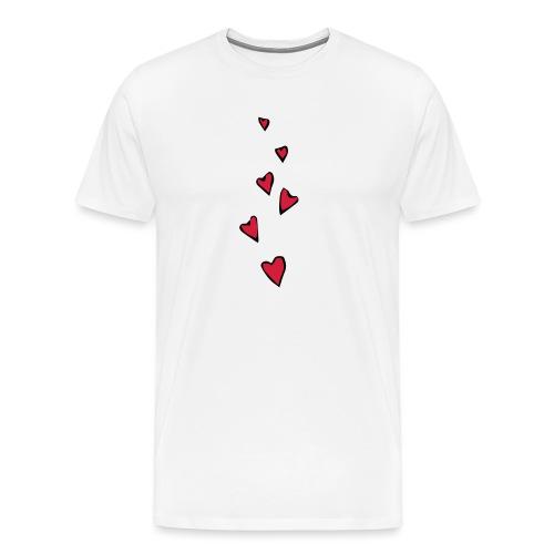 Cuori - Maglietta Premium da uomo