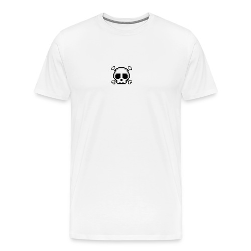 Scripted. Skull - Men's Premium T-Shirt