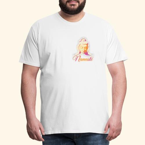 Buddha - Namasté - Männer Premium T-Shirt