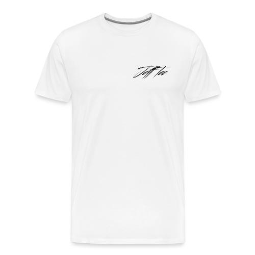 JeffTec Signature Logo White - Men's Premium T-Shirt